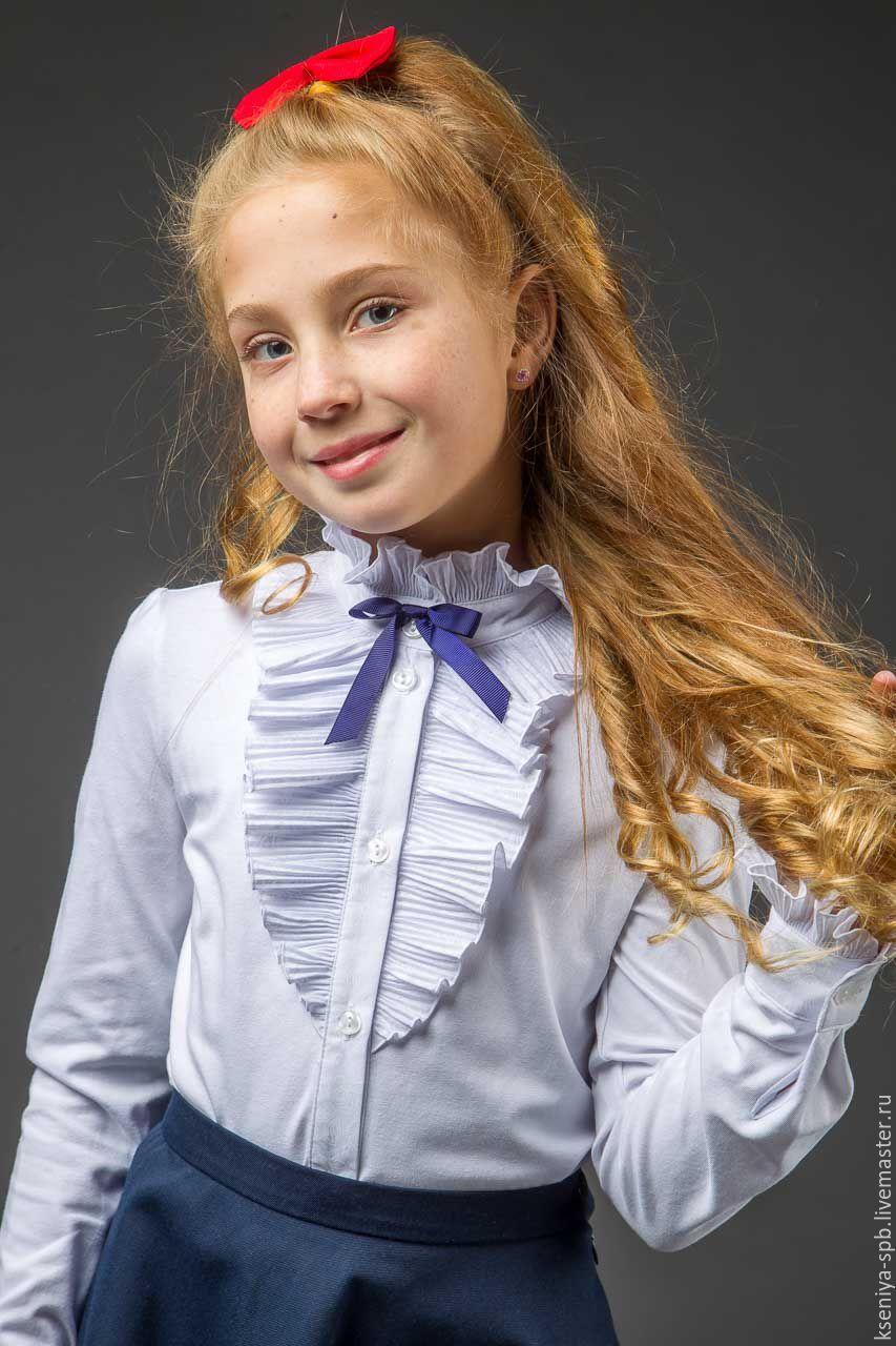 Мастер-класс: шьем школьную блузку Шкатулка