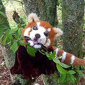 Куклы и игрушки ручной работы. Ярмарка Мастеров - ручная работа Красная (малая) панда. Handmade.