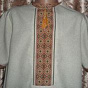 """Одежда ручной работы. Ярмарка Мастеров - ручная работа Рубашка """"ЛЕН"""". Handmade."""