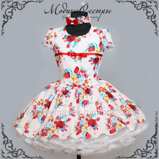 Women's dress 'Flowers' Art.145, Dresses, Nizhny Novgorod,  Фото №1