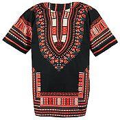 Одежда ручной работы. Ярмарка Мастеров - ручная работа Африканская рубашка Dashiki. Handmade.