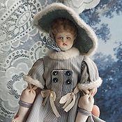 Куклы и пупсы ручной работы. Ярмарка Мастеров - ручная работа Куклы:Авторская реплика миниатюрной чайна долл Тэсс. Handmade.