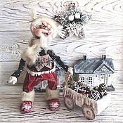 Куклы и игрушки handmade. Livemaster - original item New Year.Interior doll,collectible