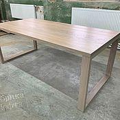 Для дома и интерьера handmade. Livemaster - original item Dining table made of oak SK 900h1900. Handmade.