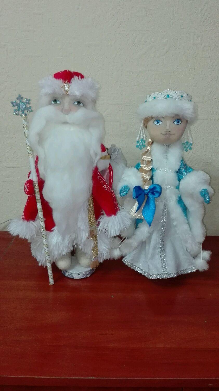 Дед Мороз и Снегурочка, Куклы, Москва, Фото №1