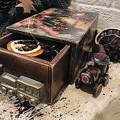 Подарки к праздникам handmade. Livemaster - original item House train - the box Christmas. Handmade.