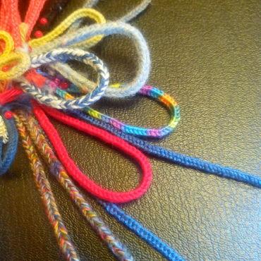 Одежда ручной работы. Ярмарка Мастеров - ручная работа Шнур ручного плетения. Handmade.