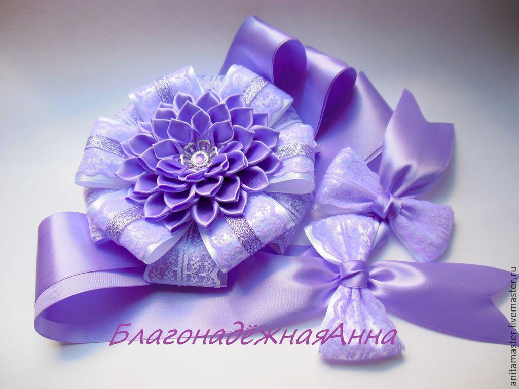 Цветок на выписку из роддома мастер класс