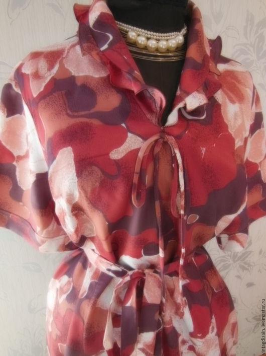 Одежда. Ярмарка Мастеров - ручная работа. Купить Платье шёлк  СССР. Handmade. Платье винтажное, одежда, винтажное платье, шёлк