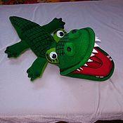 Крокодил. Кукла на руку PUPPETS.Перчаточная кукла.