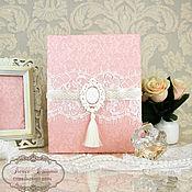 """Свадебный салон ручной работы. Ярмарка Мастеров - ручная работа Папка для свидетельства о браке """"Прекрасная леди"""". Handmade."""