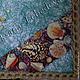 Часы для дома ручной работы. Панно часы настенные Морская Звезда с ракушками  полезный подарок. 'Все в ажуре'  Оксана Лебедева. Интернет-магазин Ярмарка Мастеров.