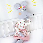Куклы и игрушки handmade. Livemaster - original item Soft toy squid Mouse symbol of the year 2020. Handmade.