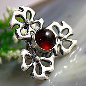 Украшения handmade. Livemaster - original item Garnet Ring, Hessonite Cinnamon Garnet. Handmade.