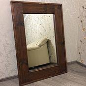Для дома и интерьера ручной работы. Ярмарка Мастеров - ручная работа Зеркало настенное в стиле Лофт. Handmade.