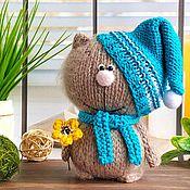 Куклы и игрушки handmade. Livemaster - original item Kitty - crayon.. Handmade.