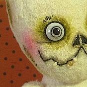 Куклы и игрушки ручной работы. Ярмарка Мастеров - ручная работа Бельмоша - бывший зайчик оч странной породы. Handmade.