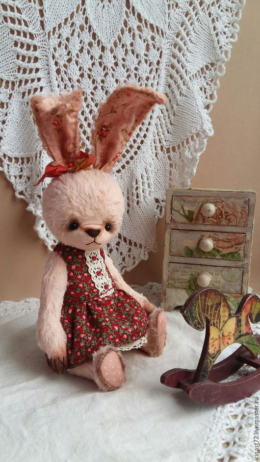 Куклы и игрушки ручной работы. Ярмарка Мастеров - ручная работа. Купить Выкройка зайки. Handmade. Белый, выкройка зайца, выкройка