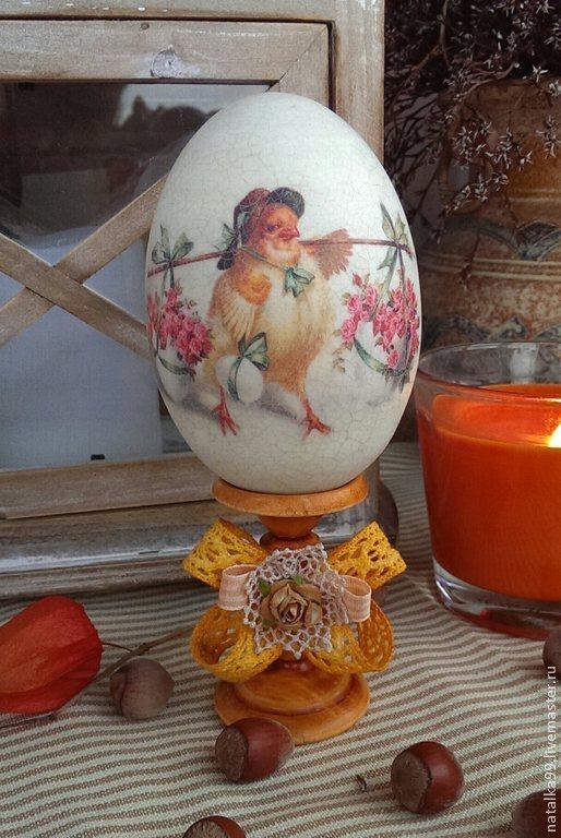 """Подарки на Пасху ручной работы. Ярмарка Мастеров - ручная работа. Купить """" Оранжевая пасха"""" яичко. Handmade. Оранжевый, Пасха"""