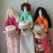 Для дома и интерьера handmade. Livemaster - original item Tilda Guardian cotton pads and sticks. Handmade.