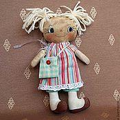Куклы и игрушки ручной работы. Ярмарка Мастеров - ручная работа Тряпичная кукла Катюша.. Handmade.