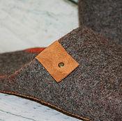 Обувь ручной работы. Ярмарка Мастеров - ручная работа Тапочки Tirole. Handmade.