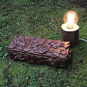 Для дома и интерьера ручной работы. Ярмарка Мастеров - ручная работа Резная шкатулка. Handmade.