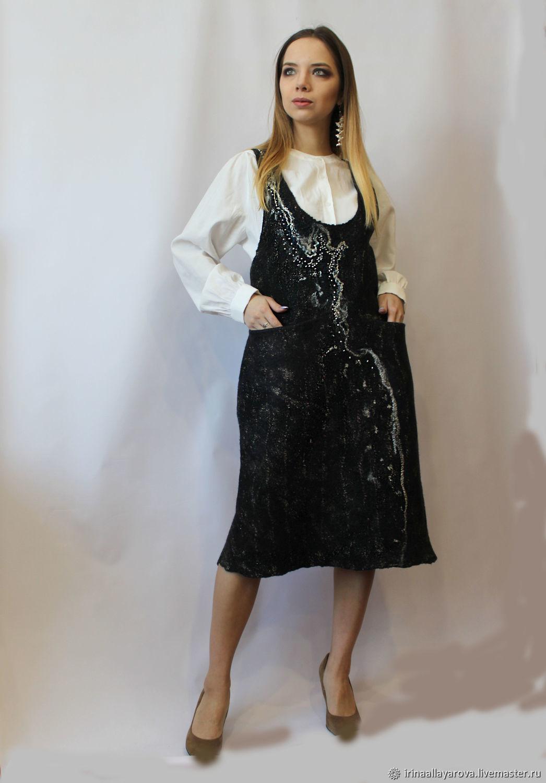 Felted sundress Sensation!, Dresses, Verhneuralsk, Фото №1