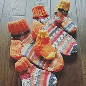 Аксессуары ручной работы. Ярмарка Мастеров - ручная работа Носки для всей семьи. Handmade.