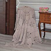 Для дома и интерьера handmade. Livemaster - original item Plaid blanket