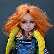 Куклы и игрушки handmade. Livemaster - original item Solar Ginge Olya. Dolls in a single copy.. Handmade.