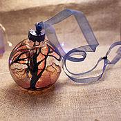Елочные игрушки ручной работы. Ярмарка Мастеров - ручная работа Елочные игрушки: Волшебный лес. Handmade.
