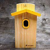 Для дома и интерьера handmade. Livemaster - original item Birdhouse for birds