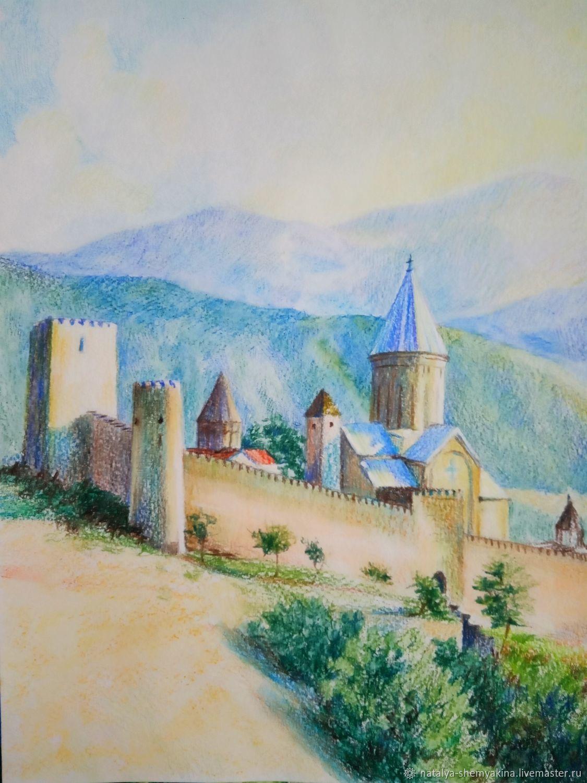 Замок. Грузия, Картины, Уфа,  Фото №1