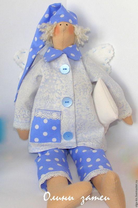 Куклы Тильды ручной работы. Ярмарка Мастеров - ручная работа. Купить Сонный ангел Тильда. Сплюшка для малыша. На заказ. Handmade.