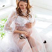 Одежда ручной работы. Ярмарка Мастеров - ручная работа Кружевное платье для беременных. Handmade.
