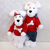 Боб и Бобетта. Игрушки собаки. Символ года.