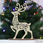 Сувениры и подарки handmade. Livemaster - original item New year`s reindeer
