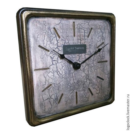 Часы для дома ручной работы. Ярмарка Мастеров - ручная работа. Купить Настенные часы. Старый белый бук. Раз.. Handmade.