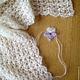 Пледы и одеяла ручной работы. Виолетта - сет для фотосессии новорожденных. Наташа Харина. Ярмарка Мастеров. Плед для новорожденного, для новорожденных