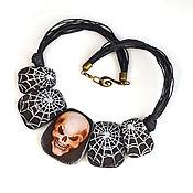 Украшения handmade. Livemaster - original item Gothic Skull Necklace. Handmade.