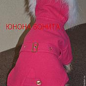 """Для домашних животных, ручной работы. Ярмарка Мастеров - ручная работа Комбинезон-пальто   """"Северяночка"""". Handmade."""
