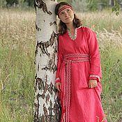 Одежда ручной работы. Ярмарка Мастеров - ручная работа Платье в этно-стиле. Handmade.