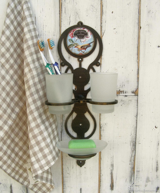 Держатель для стаканов и мыльница Английский сад, Мыльницы, Тверь,  Фото №1