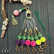 Материалы для творчества handmade. Livemaster - original item A set of markers for knitting 667. Handmade.