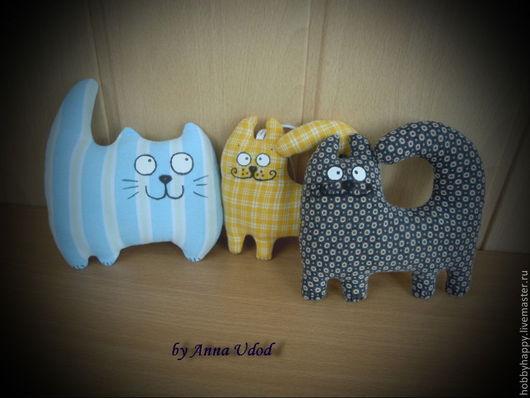 Игрушки животные, ручной работы. Ярмарка Мастеров - ручная работа. Купить Коты. Handmade. Кот, котенок, подарок на любой случай