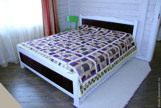 Текстиль, ковры ручной работы. Ярмарка Мастеров - ручная работа. Купить Лоскутное покрывало печворк, покрывало пэчворк. Handmade. покрывало
