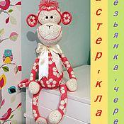 Куклы и игрушки ручной работы. Ярмарка Мастеров - ручная работа Мастер-класс обезьянка Череда из африканских  мотивов. Handmade.