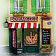 Кукольный дом ручной работы. Ярмарка Мастеров - ручная работа. Купить Boulangerie (французская булочная). Handmade. Разноцветный, кукольная миниатюра