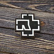 Украшения handmade. Livemaster - original item Wooden icon Rammstein. Handmade.
